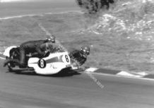 BSA Sidecar photo Terry Vinnicombe & John Flaxman Brands late 1960's